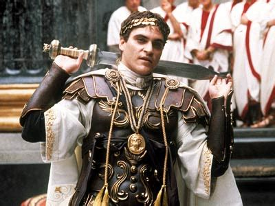 gladiator film costumes commodus was terrible historical histrionics