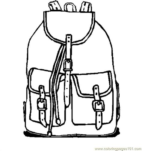 school bag coloring page backpack 10 coloring page free school coloring pages