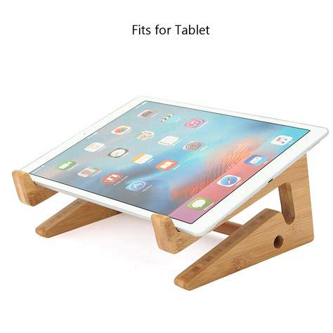 multifunctional wooden detachable desktop stand holder for