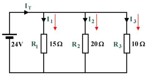 current through resistor voltage divider the current divider