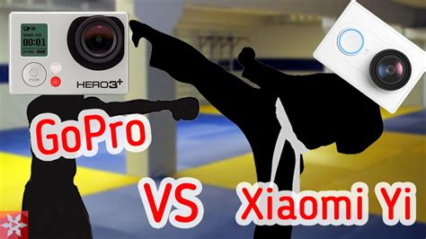 Yi Vs Kamera Gopro xiaomi yi vs gopro 3 black edition