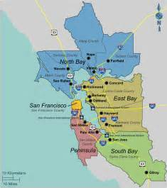 Map San Francisco Bay Area by File Bayarea Map Png