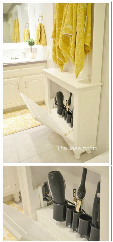 diy bathroom organization  storage ideas diy home decor