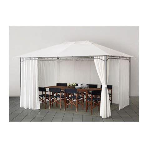 ikea pavillon gardinen karls 214 pavillon mit gardinen wei 223 garden seat and