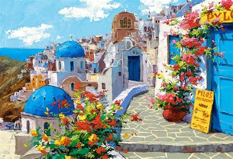 comprare casa a santorini comprar puzzle castorland primavera en santorini de 2000