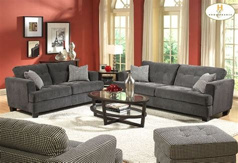 regal home decor regal grey living room sofa set with oval glass coffee