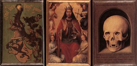 Hans Memling Vanity triptych of earthly vanity and salvation hans memling wikiart org encyclopedia of