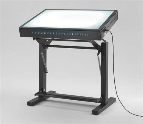 Light Tables And Light Boxes For Designer And Architect Glass Drafting Table With Light