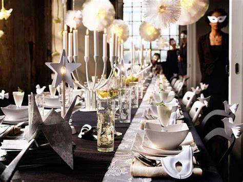 new year buffet decoration 35 black and white new year s table decorations