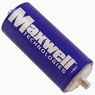 maxwell technologies ultracapacitor ultracapacitors to be used for braking energy recuperation in rail system electric