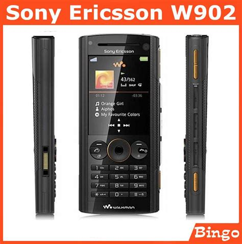 Sony Ericsson C903 Original 100 w902 sony ericsson w902 100 original unlocked mobile phone 3g gsm buletooth 5mp cell