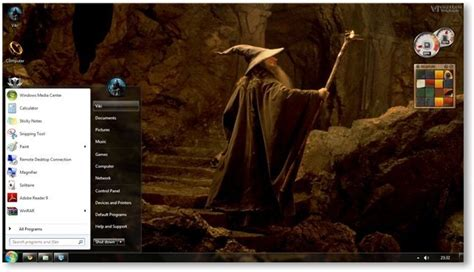 chrome theme lord of the rings lord of the rings theme for windows 7 and windows 8