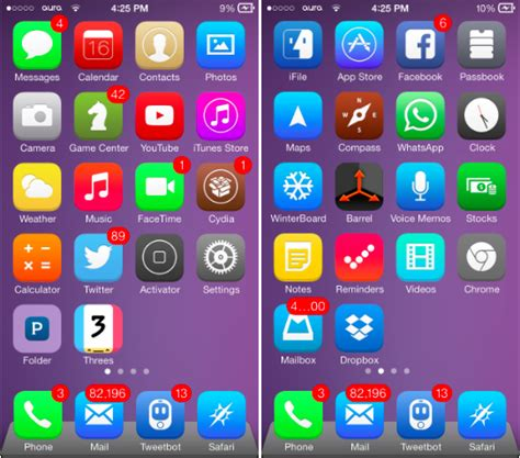 themes for iphone 4 ios 7 1 2 the 8 best ios 7 themes for iphone download here