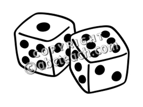 black and white dice draw male models picture