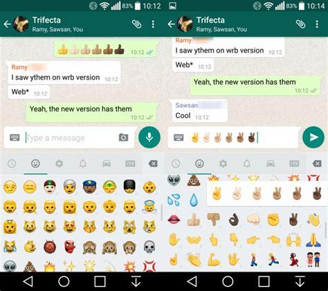 imagenes de emoji chidas llegan a whatsapp los emoji de colores representando las