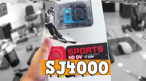 unboxing sj4000 comprada no aliexpress a concorrente