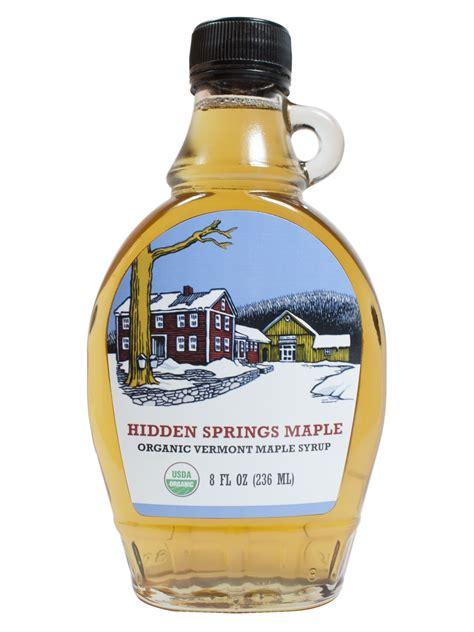 Gelas Sirop glass bottle organic maple syrup springs maple
