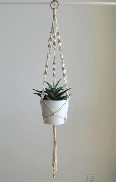 Macrame Flower Pot Hangers - wedding plant hanger macrame plant hanger boho wedding