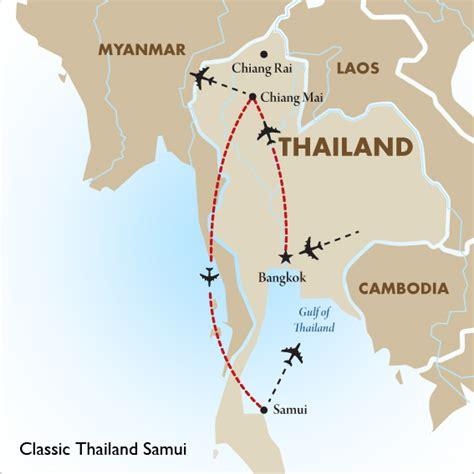 printable map koh samui thailand tours classic thailand samui goway