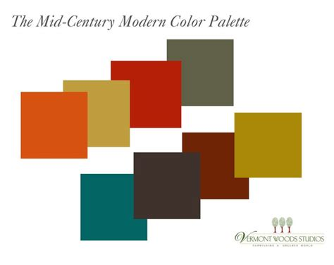 modern color combinations modern color schemes paradise palms some mid century