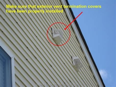 house vents fall maintenance tips exterior fall maintenance check list