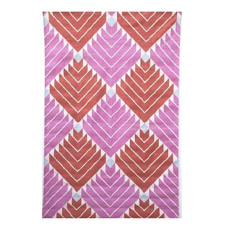 pink dhurrie rug dharan pink orange dhurrie rug mahout lifestyle