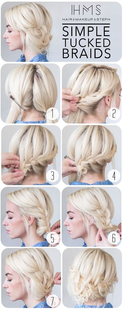 hair and make up by steph how to wrap around braid hair styles ideas hair and make up by steph how to