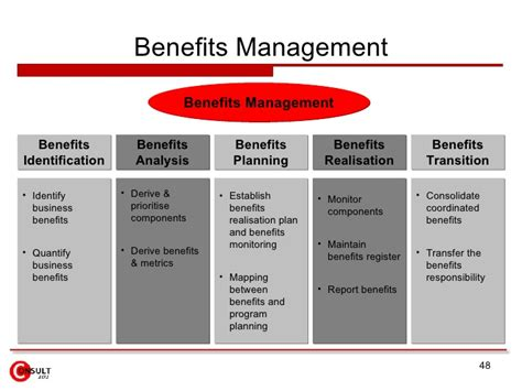 benefits realization plan template program management