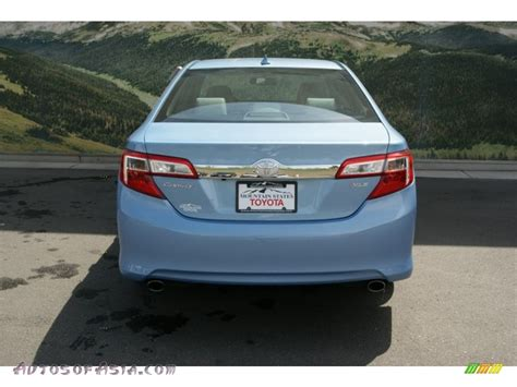 2013 toyota camry xle v6 2013 toyota camry xle v6 in clearwater blue metallic photo