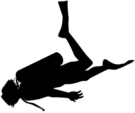 scuba diver silhouette png clip art gallery yopriceville