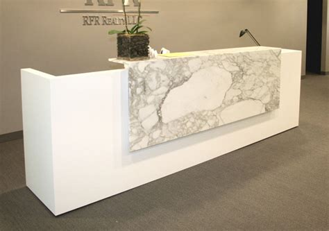 Reception Desk Materials Arnold Reception Desks Inc Contemporary Reception Desk Arcus