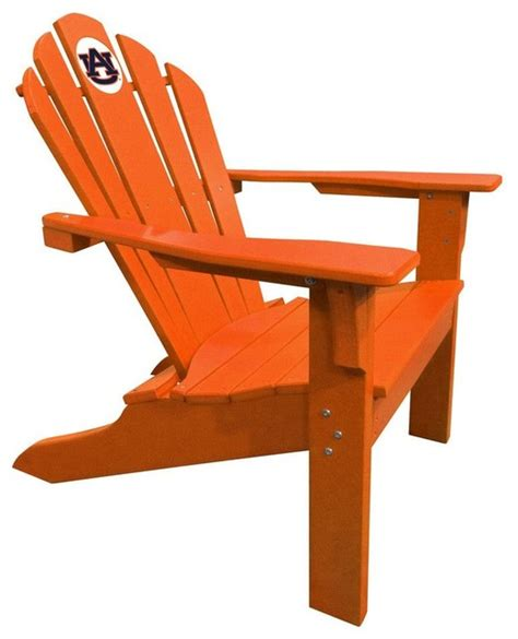 Composite Adirondack Chairs Imperial International Auburn Tigers Big Orange Composite Adirondack Deck Chair