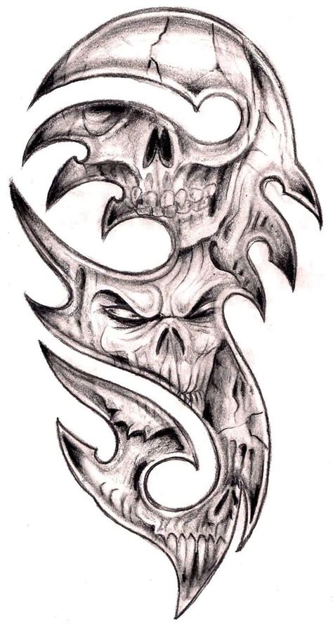skull and bones tattoo 37 best realistic skull and bones images on