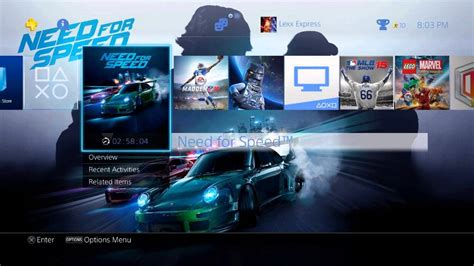 ps4 themes youtube unboxing need for speed psn preorder exclusive special
