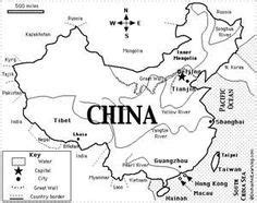 Ordinal Pop Culture 03 map of china china worksheets and maps