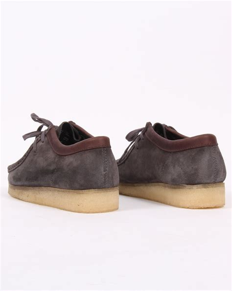 wallabee shoes clarks originals wallabee shoes charcoal suede s