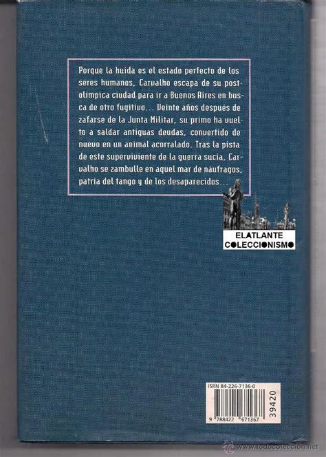libro quinteto de buenos aires quinteto de buenos aires manuel vazquez monta comprar libros de terror misterio y polic 237 aco