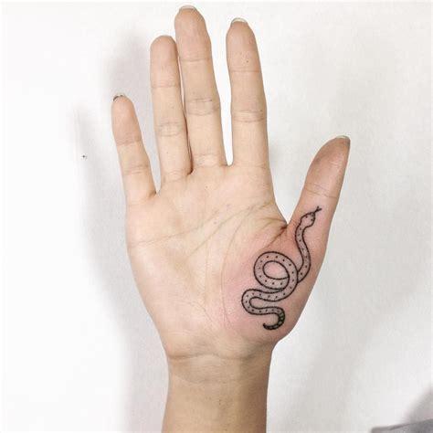 tattoo finger instagram thanks michelle handpoke stickandpoke finger