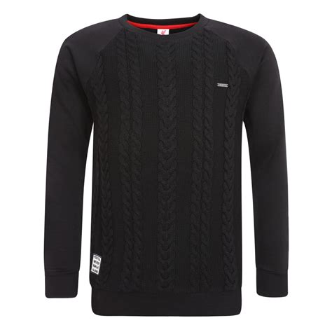 Sweater Liverpool 4 liverpool fc lfc mens black knit panel jumper sweater pullover nwt official ebay