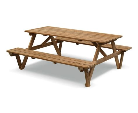 teak 6ft garden pub bench teak picnic table