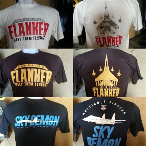 Kaos Bodyfit Transformers Limited Edition open sale air shirt sukhoi su 27 su 30 flanker keep them flying the sky