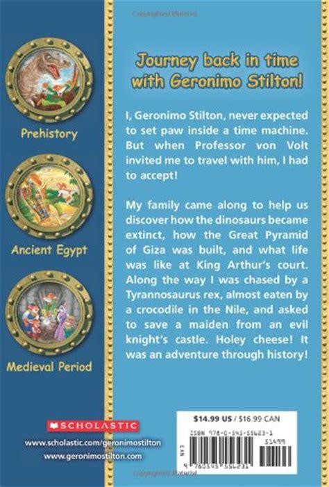 Geronimo Stilton The Journey Through Time libro the journey through time di geronimo stilton