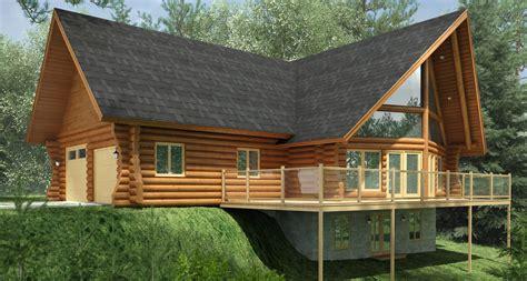 Cabin With Loft Floor Plans kenogami avec garage patriote maisons et
