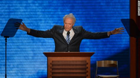Empty Chair Eastwood by Upstaged Why Everyone Is Talking Eastwood Not Romney