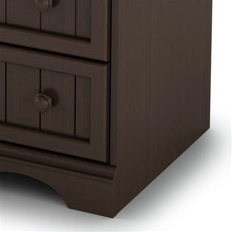 south shore changing table espresso south shore handover changing table in espresso finish