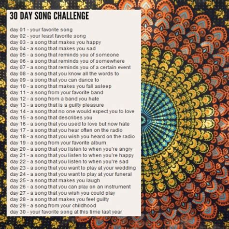 30 day song challenge 2015 day 25 the platter 8tracks radio 30 day song challenge 25 songs free