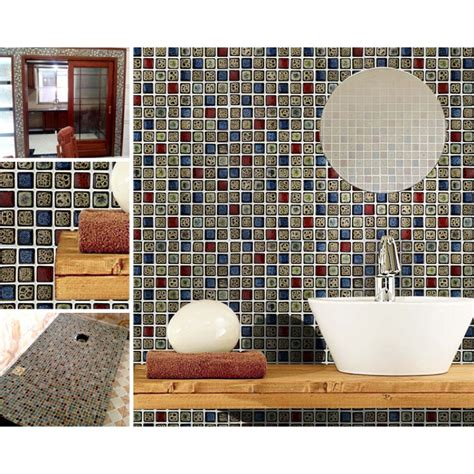 tile sheets for kitchen backsplash porcelain mosaic tile sheets kitchen backsplash tiles