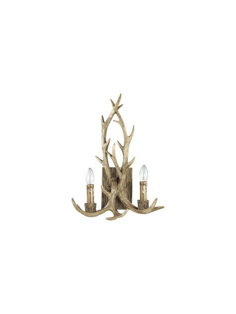 applique rustici applique rustico in legno intagliato corna 2 chalet