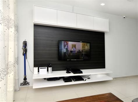 #tv #console #cabinet #white #laminate #wood #livingroom #