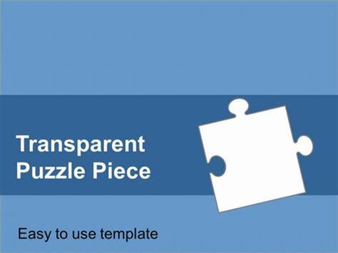 Transparent Puzzle Piece Template Powerpoint Jigsaw Puzzle Pieces Template